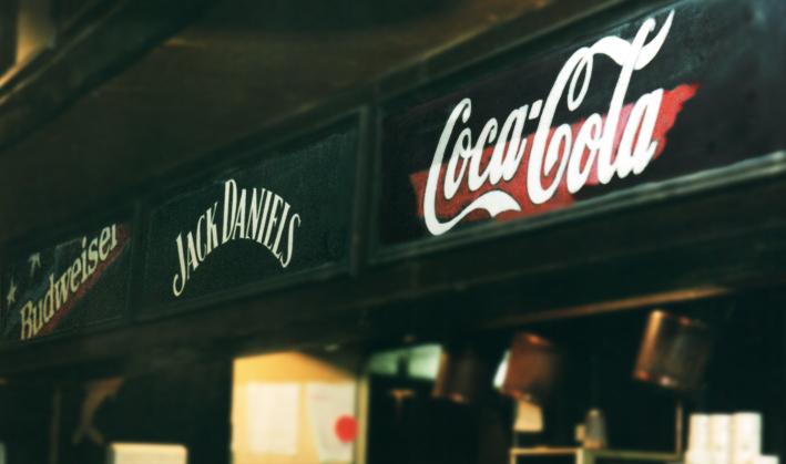 Jack Daniels blackboard