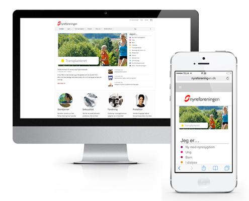 Nyreforeningen web design København