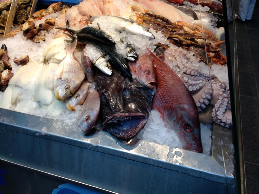 Fish market Copenhagen