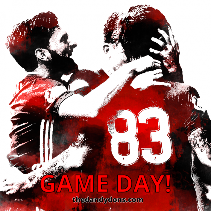game day pittodrie