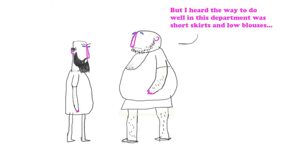 Gray's School of Art cartoon