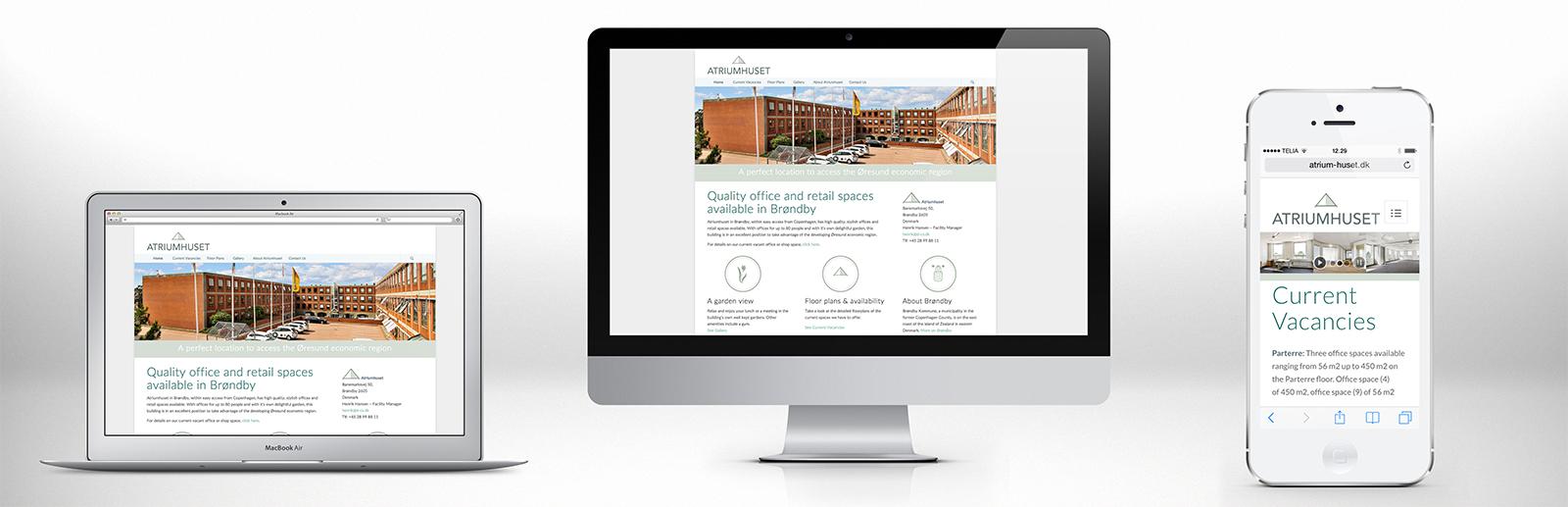 atriumhuset-web-design