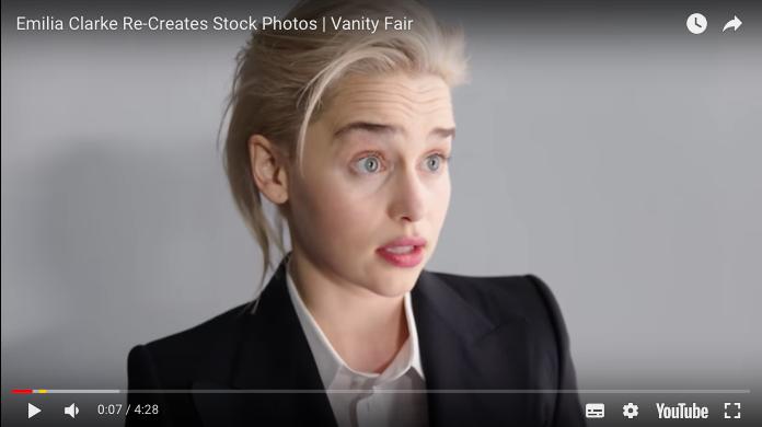 emilia clarke stock photos