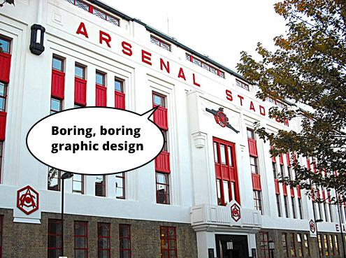 boring graphic design