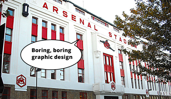 boring graphic design