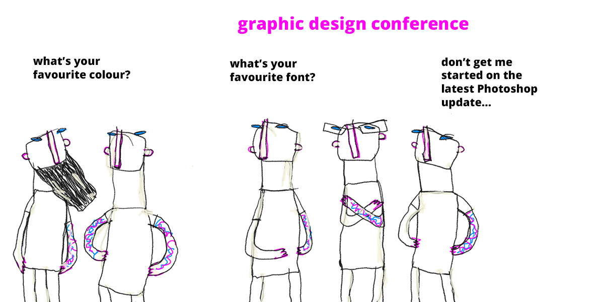 graphic design is boring conference