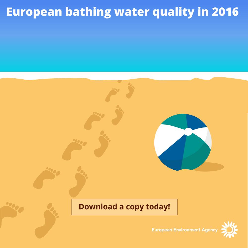 eu water report graphic design